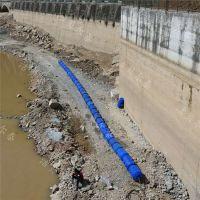 塑料拦污排浮筒 河道拦污网 拦污漂价格