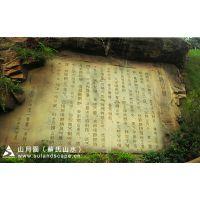 苏氏山水假山瀑布生态园林景观