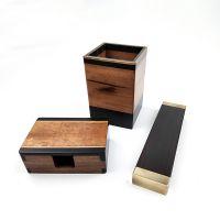 商务高端礼品定制厂家红木文房套装低费用选礼「一木工艺」