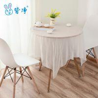 台布家用一次性塑料素色增厚桌布  百货桌椅套件 PE材质防水防油