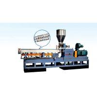 PE造粒生产线 热销PE木塑造粒生产线 平双螺杆造粒机