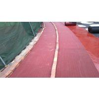 运动场地跑道施工 塑胶跑道材料销售
