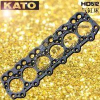 KATO/加藤HD512挖机_气缸床_汽缸垫_发动机配件