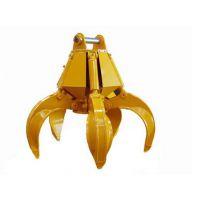 挖掘机多瓣抓具 机械式抓具 回转液压式抓具航通机械专业生产直销