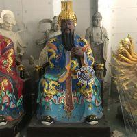禅相法器定做郑州道教学院三官大帝神像价格 玻璃钢彩绘三官图片