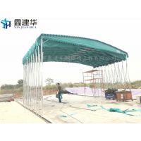 济宁市梁山县订制厂家施工帆布雨棚布、遮雨推拉式帐篷