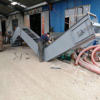 FU270型石灰渣刮板输送机 长距离Z字形石粉物料刮板输送机