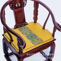 现代中式椅垫餐椅垫皇宫椅沙发垫太师椅椅垫实木圈椅卡口椅子垫