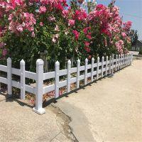 草坪护栏价格 绿化带隔离栅栏 塑钢园林绿化栅栏