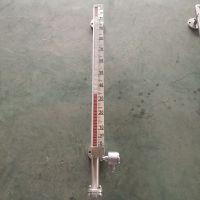 不锈钢储罐耐高温 侧装衬四氟磁性液位计UHZ-KEY/C 中温