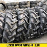前进人字钢丝农用子午线联合收割机轮胎340/85r28 13.6R28