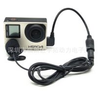 GOPro Hero 3/3+/4防水运动相机摄像机DV转接线+迷你麦克风