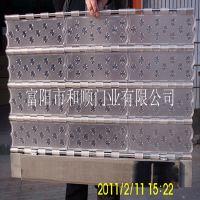 【新款】厂家供应磨沙冰晶花水晶卷帘门门片 定做电动水晶卷闸门