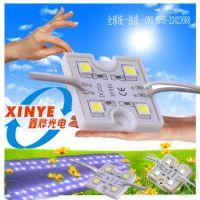 XY-5050-4LED厂家供应模组 LED5050 四灯 胶壳 3535 方形 广告字专用发光源