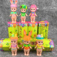 丘比特 春季复活款天使娃娃~彩色盲盒 全6款公仔 蛋糕装饰玩偶