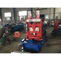 C型钢生产设备 80-300c型钢机 地鑫压制c型檩条机器