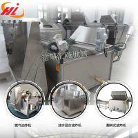 HL-1200坚果休闲食品油炸机设备厂家