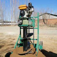 电线杆打眼机 苗圃植树挖坑机 核桃苗栽种植树机厂家