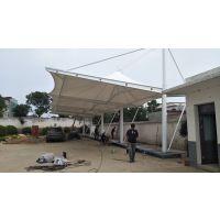 小区膜结构充电桩车棚景天膜结构厂家定制