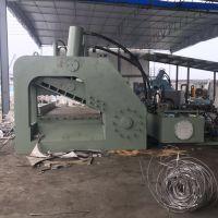 四川凉山废铁龙门剪切机厂家刀口1400的500吨虎头剪切机视频思路液压机械