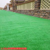 绿色塑料假草 屋顶隔热假草坪 安全仿真草皮