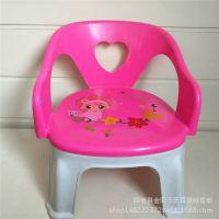 0016宝宝椅 家用儿童塑料靠背椅子 安全环保结实学习椅 十元地摊