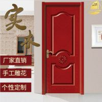 亚马门业 定制平开实木烤漆门 室内隔音强化套装双开门 厂家直销包邮