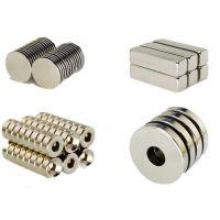 东阳马力钕铁硼强力磁铁定做 防爆电机 打印机专用磁铁