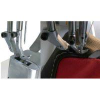 单针柱型明缝单线专用机