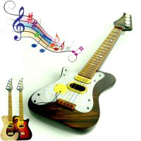 儿童启蒙仿真摇滚吉他 可弹奏电吉他贝司 益智早教乐器批发