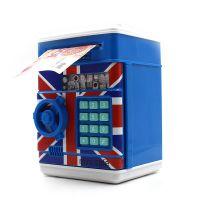 外贸保险箱密码存钱罐创意迷你ATM零花钱卷钱硬币储钱罐益智玩具