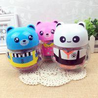 批发优奇卡通熊猫3D彩泥 环保橡皮泥 模具工具套装 儿童玩具