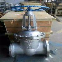 小口径不锈钢闸阀 Z41W-16P DN32 国标法兰闸阀 Z41W 不锈钢304材质
