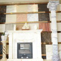 复古家居大理石装饰工艺品 优质天然彩玉大理石 耐磨专用内墙砖