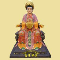上海树脂玻璃钢佛像厂批发定制劈山 托天 地藏十二老母神像