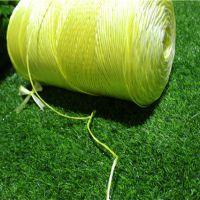 塑料绳厂家直销克拉斯打捆机专用小方捆黄绳价钱低 安徽阜阳泉翔