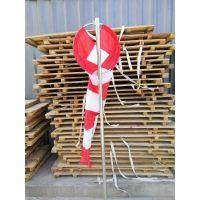 荧光风向袋 金属风向标 加固型荧光风向仪 气象风向标