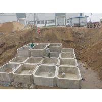 河南地埋式水泥化粪池 沉淀池 多少钱一方