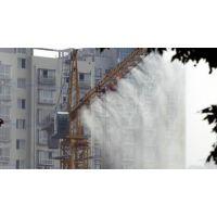 安以系列工地塔吊喷淋降尘系统 塔吊喷雾 围挡喷淋喷雾除尘