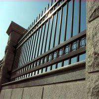 国际物流园围墙护栏 铁艺栏杆安装 铁艺栏杆公司