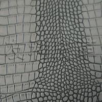 厂家供应精品PU革 鳄鱼纹人造革 箱包革 家具皮革