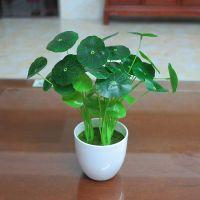 仿真植物假花绿植室内外装饰塑料盆栽植物绿萝小盆景摆件花草植物