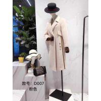 服装尾货批发市场品牌羊绒大衣折扣女装尾货清仓