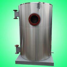 薯条休闲食品油炸机生产线不锈钢燃气锅炉导热油盘管低压立式室燃太康锅炉