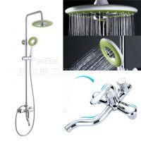 浴室全铜淋浴花洒套装冷热水龙头淋雨喷头升降淋浴器混水阀龙头