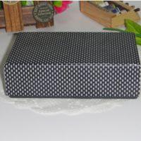 条纹包装纸盒 饰品天地盖礼盒 通用包装彩盒 广东印刷厂家定做