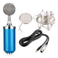 小奶瓶唱吧大振膜电容麦克风电脑网络K歌声卡录音设备直播话筒