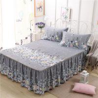 棉床裙式床罩单件加厚防尘床套x保护床单1.5m1.8米2.0