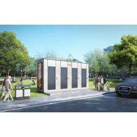 装配式智能公厕施工