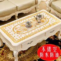 PVC烫金桌布 小杯垫餐垫 家居防滑隔热碗盘垫茶几布厂家直销